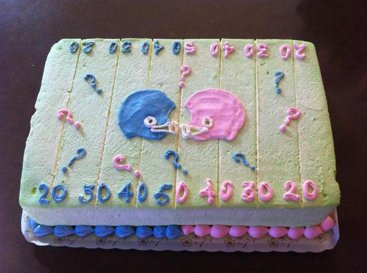 Sheet Cake Gender Reveal
