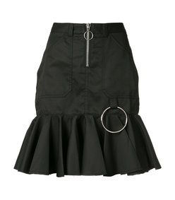 Marques Almeida: Black Peplum Skirt