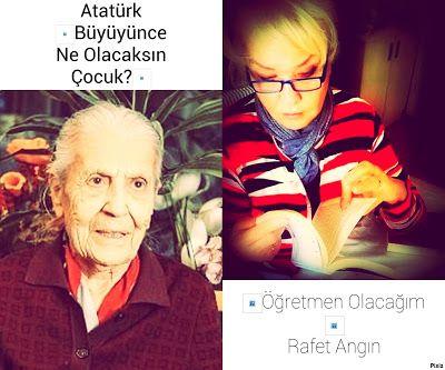 """kitaplar:    Atatürk """"BüyüyünceNe Olacaksın Çocuk?"""" """"Öğretme..."""