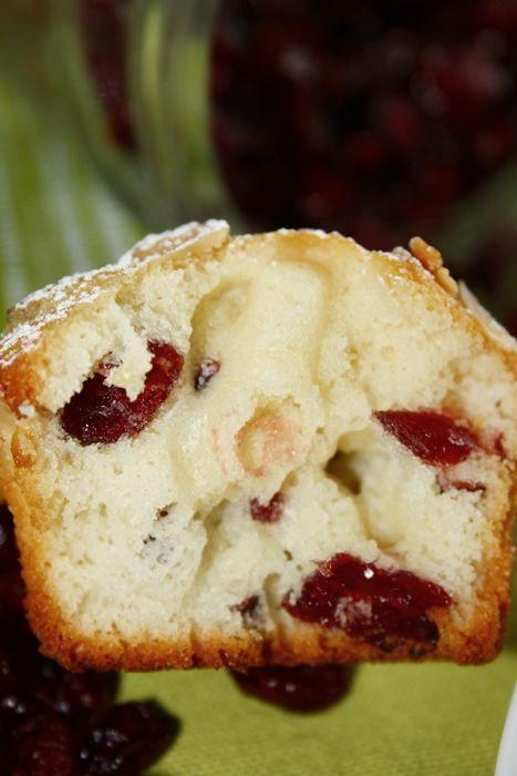 Briose cu lamaie si merisoare/ Lemon Cranberry Muffins | gabriela cuisine - recipes
