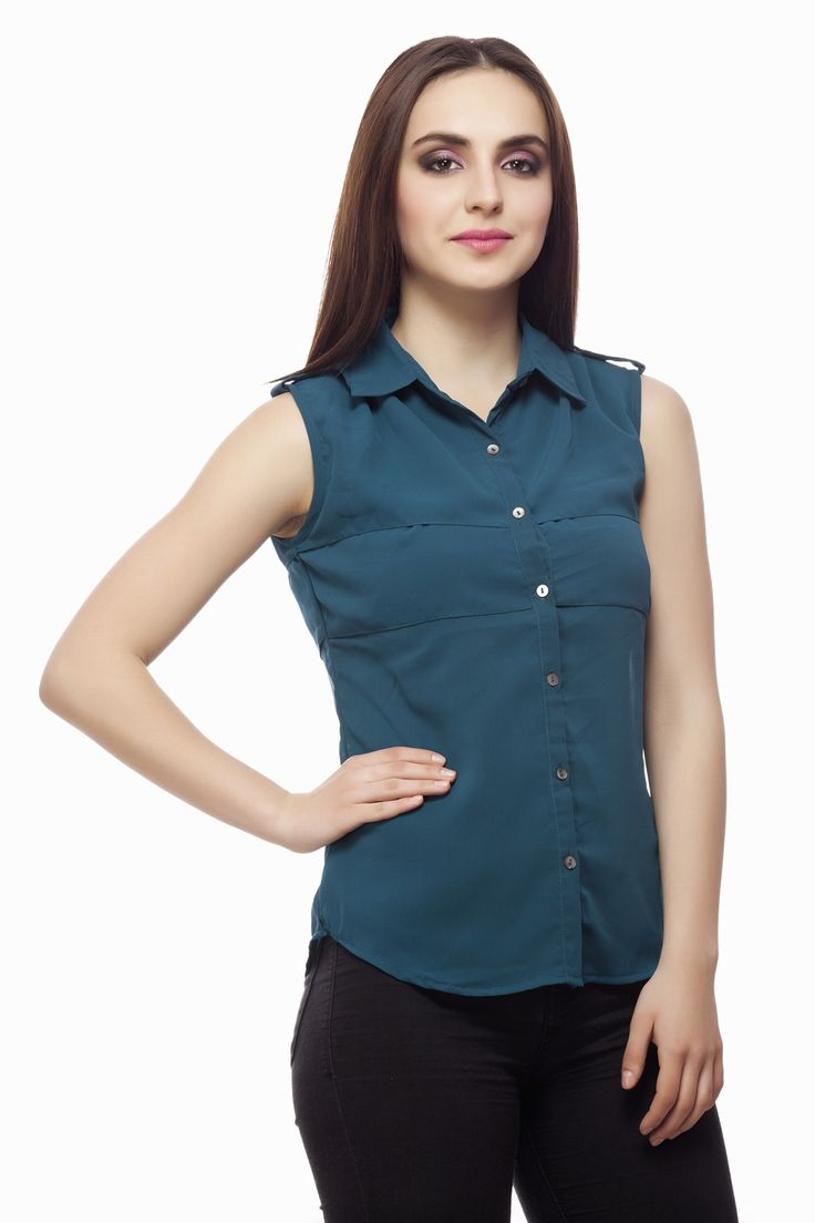 Teal Tier Shirt From Miss Queen.Shop Online Enjoy discount 60% off
