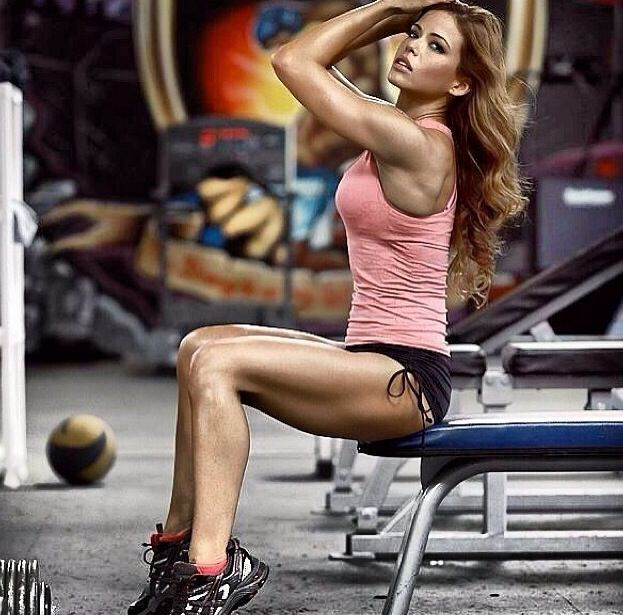 Fitness bikini models nude