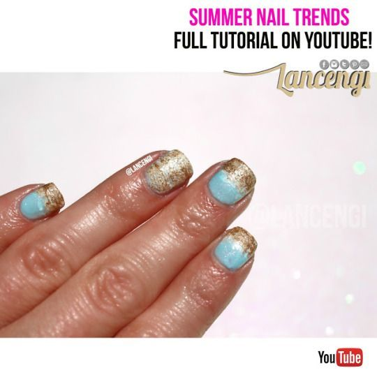 Conosciuto 196 best Nail Art Designs for Beginners images on Pinterest  IN46
