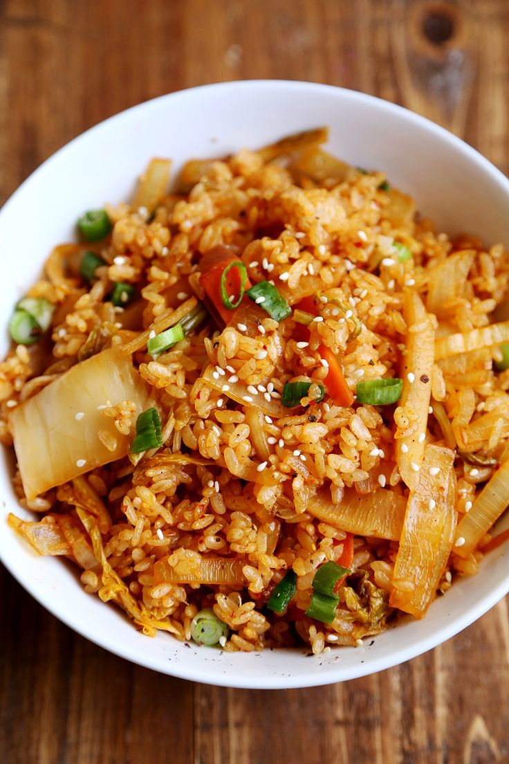 Kimchi Fried Rice | Recipe | Kimchi fried rice, Rice and Eggs