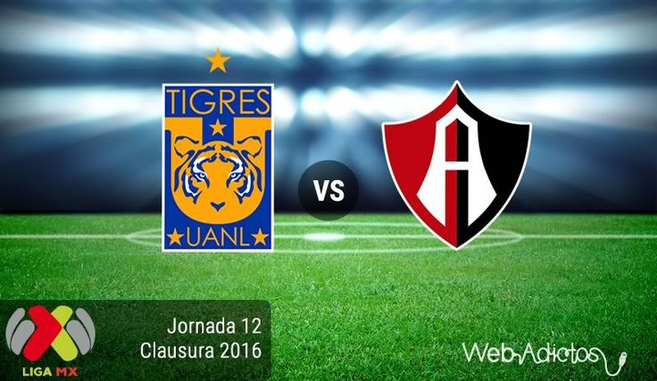Tigres vs Atlas, Jornada 12 del Clausura 2016 ¡En vivo por internet! - https://webadictos.com/2016/04/02/tigres-vs-atlas-j12-clausura-2016/?utm_source=PN&utm_medium=Pinterest&utm_campaign=PN%2Bposts