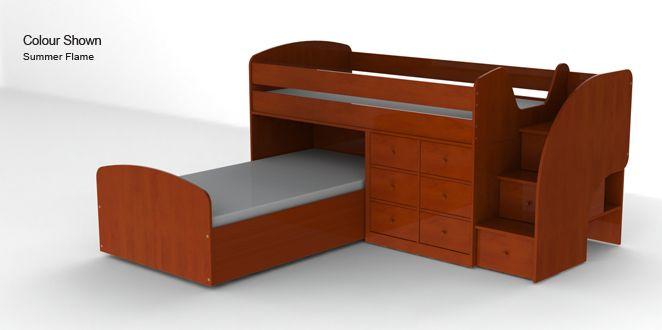 32 best images about lits d 39 enfants on pinterest vinyl decals kids bun - Lits superposes decales ...