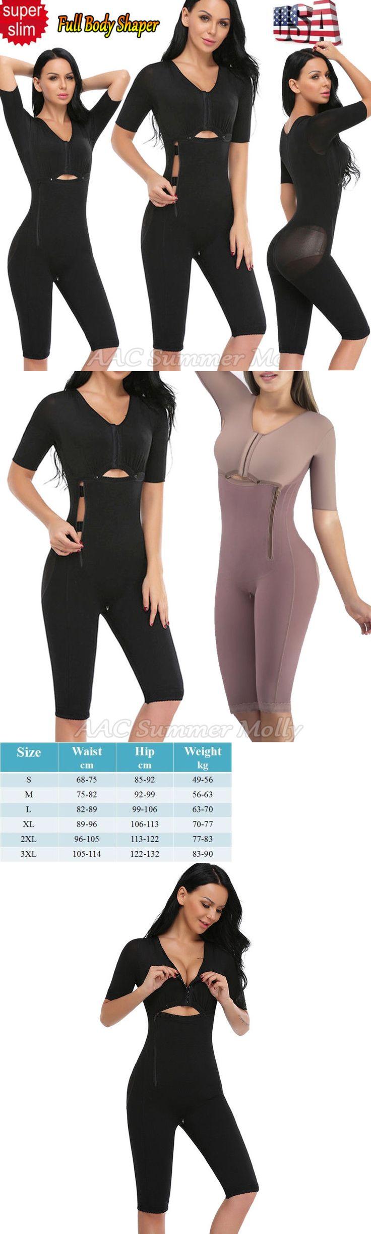 Shapewear 11530: Fajas Colombianas Full Body Arm Shaper Post-Surgery Body Suit Powernet Girdle Us -> BUY IT NOW ONLY: $47.49 on eBay!