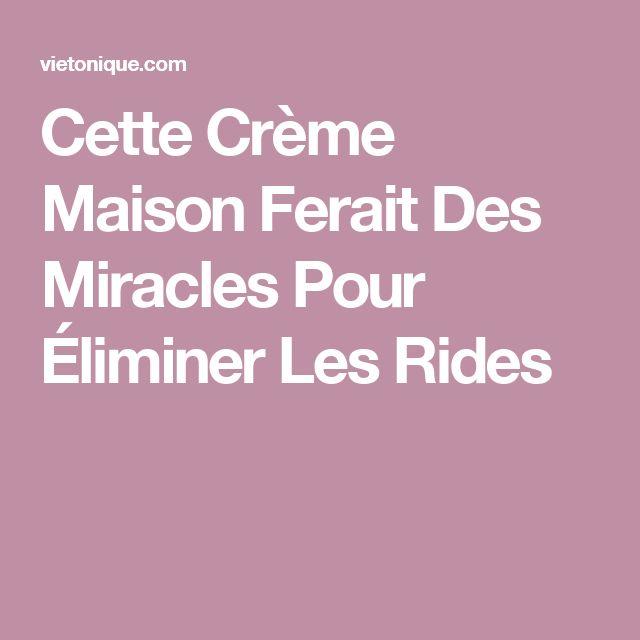 Cette Crème Maison Ferait Des Miracles Pour Éliminer Les Rides