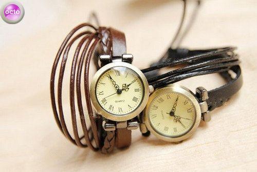 Мужские и женские кожаные браслеты.