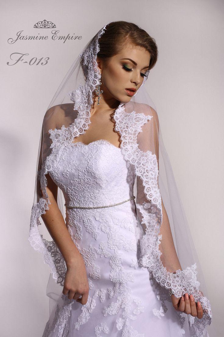 "Свадебная фата от ТМ ""Jasmine Empire"" Wedding veil from TM ""Jasmine Empire""  #jasmineempire #veils"