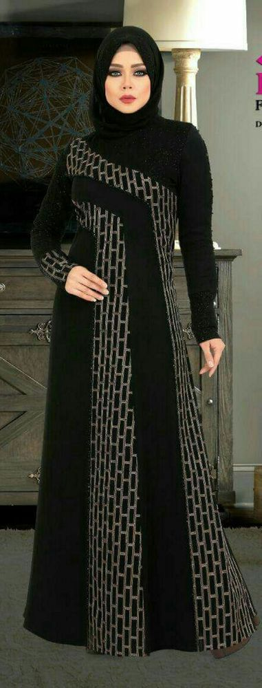 Dubai kaftan abaya jalabiya dress | Clothing, Shoes & Accessories, Women's Clothing, Dresses | eBay!
