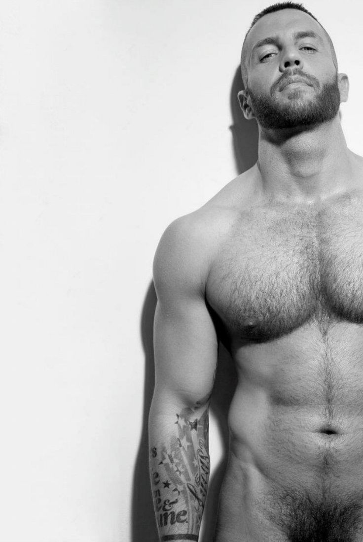 Chest gay hairy male sex stud