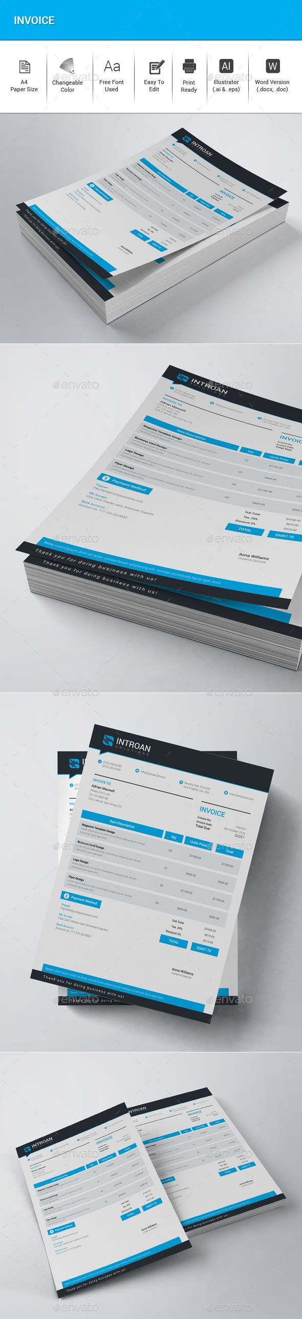 free proposal template%0A Invoice