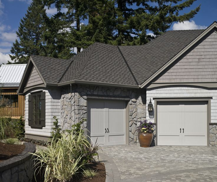 Small 2 Car Garage With A Traditional Exterior Rest Of The Home Shows
