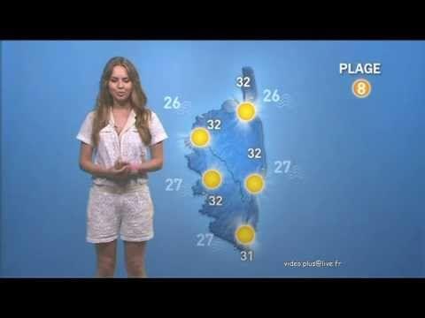 la météo corse de Sophie Olmiccia - 5/6/7 Aout 2013 - YouTube
