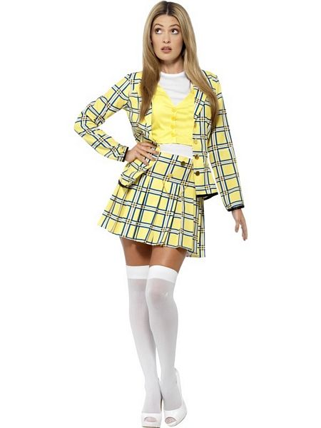Clueless Cher Costume - UK Dress 8-10