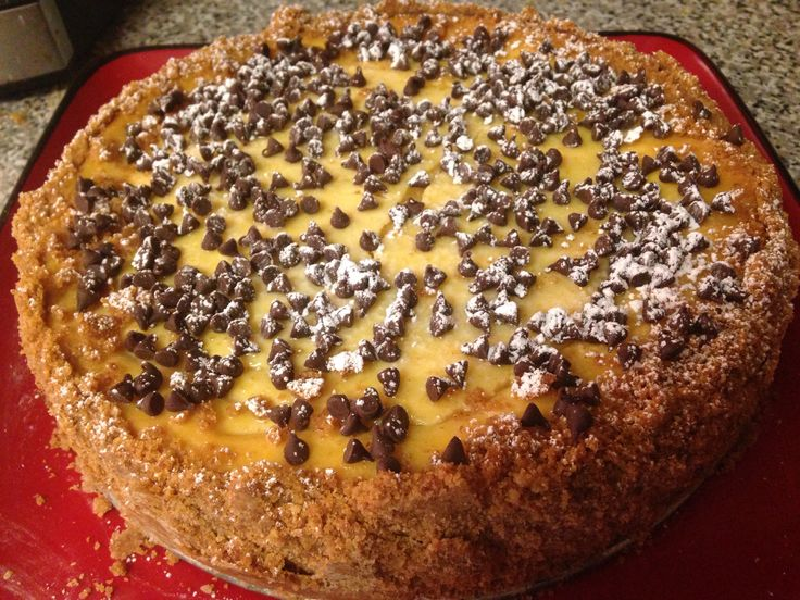 recipe image Sicilian  ricotta cheesecake