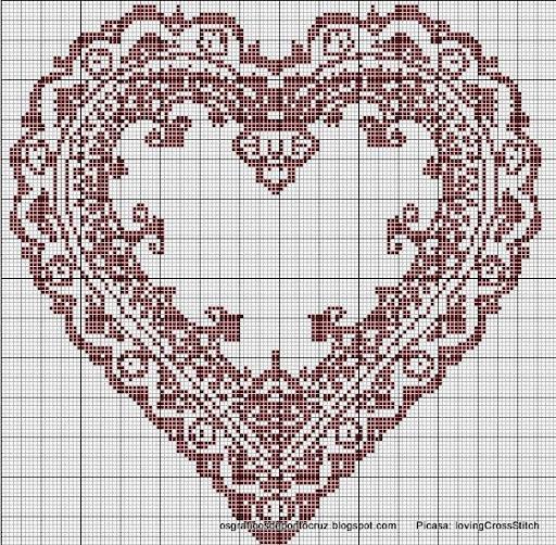 Beautiful cross stitch pattern
