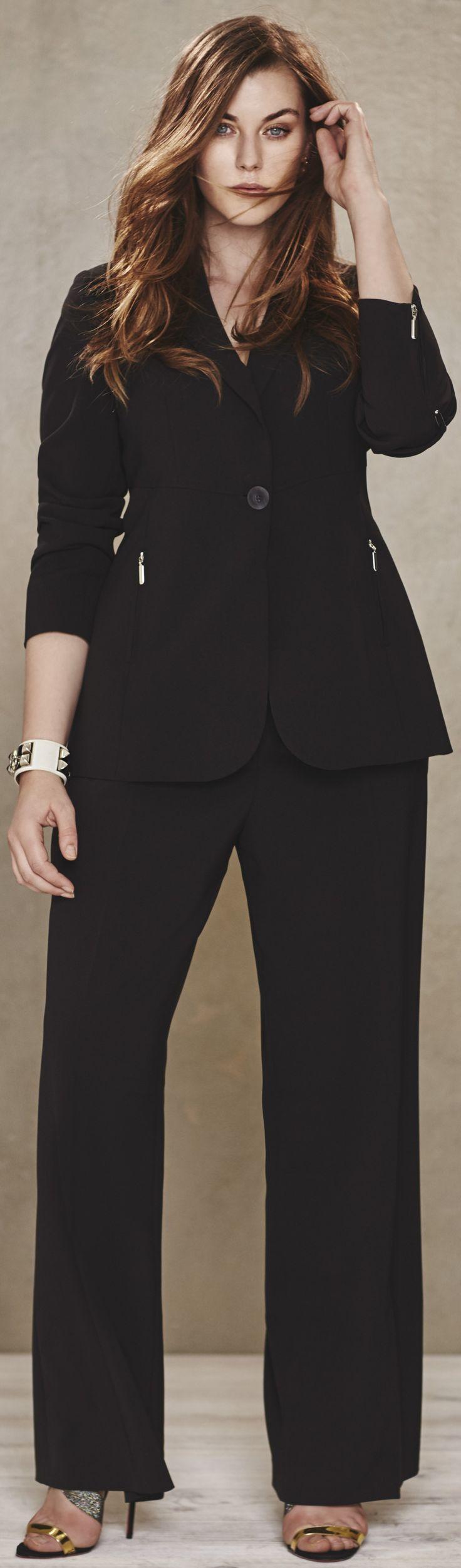 Petite plus size pants for women. Fashion tips & websites to try: http://www.boomerinas.com/2015/10/04/petite-plus-size-brands-womens-fashion-tips-for-cruisewear-casual-wear-eveningwear/