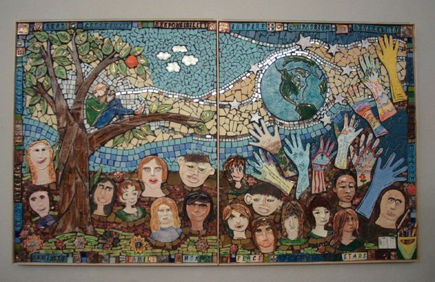 Bethlehem Area School District celebrates mosaic murals | lehighvalleylive.com