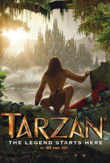 """Vayamos a descansar un poco que al rato comenzamos el día viendo """"Tarzan""""  (Dicen que es mala y la calificación de IMDB es bastante baja, así que no espero mucho)"""