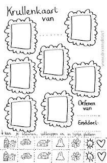 Een stimulerende beloningskaart voor kinderen > http://creatievetijdvoorjezelf.blogspot.com/2012/02/beloningskaart-met-krullen.html?spref=tw