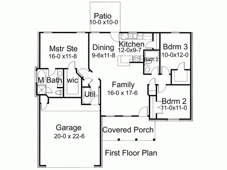 118 best images about floor plans on pinterest home for Super efficient house plans