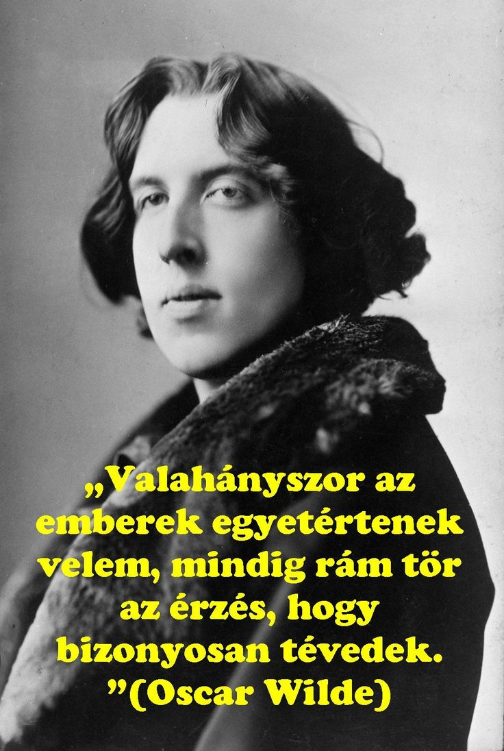 Oscar Wilde idézet.