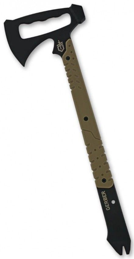 Gerber Downrange Tomahawk; The only tool you'll ever need in the Zombie Apocalypse.