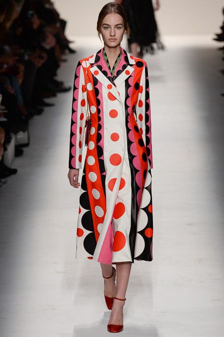 Valentino | Fall 2014 Ready-to-Wear Collection | Style.com   polka dots. really!
