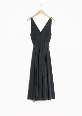 & Other Stories | Sleeveless Silk Dress