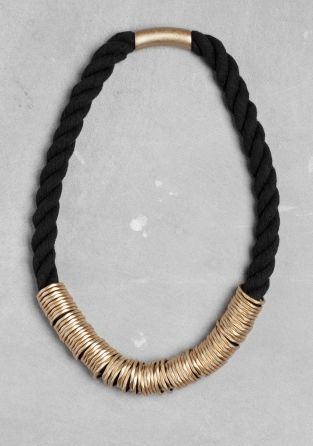 & Other Stories | Octagonal ring necklace