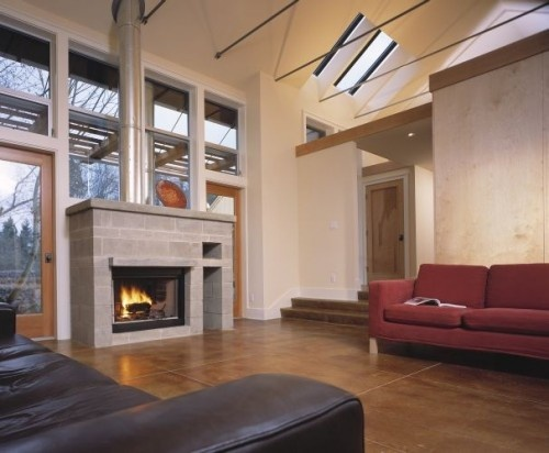 Houzz alternative to wood beams home and garden ideas for Alternative fireplaces