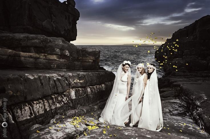 Nymphi Design Bridal Accessories - Mani Greece