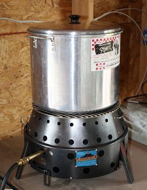 volcano grill stove waterbath canning