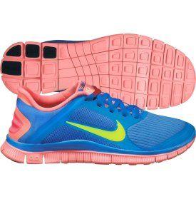 Blue & Pink Nike's