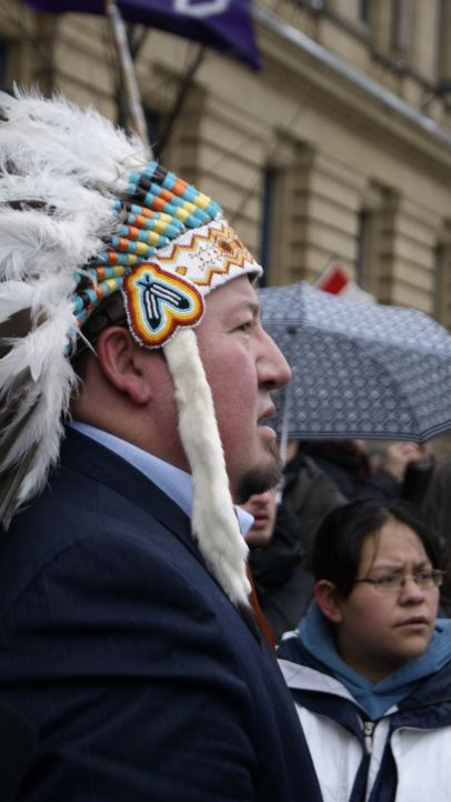 News and photography coverage of Idle No More movement from Ottawa.