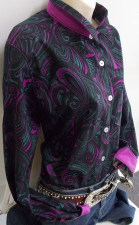 Hunter Paisley with pinky/purple contrasts