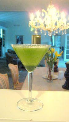 Basil Lemon Drop Martini