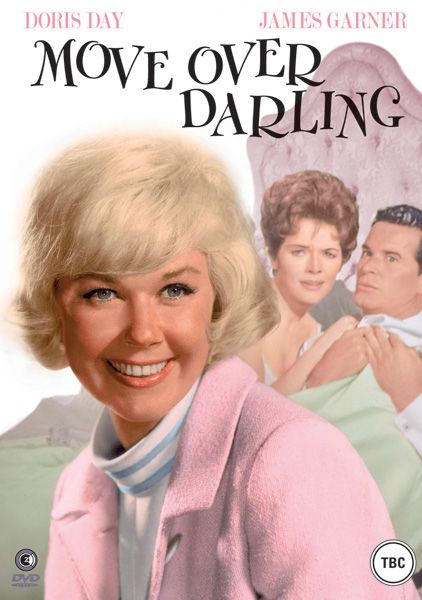 Move Over Darling    Dorris Day, James Garner and Polly Bergen