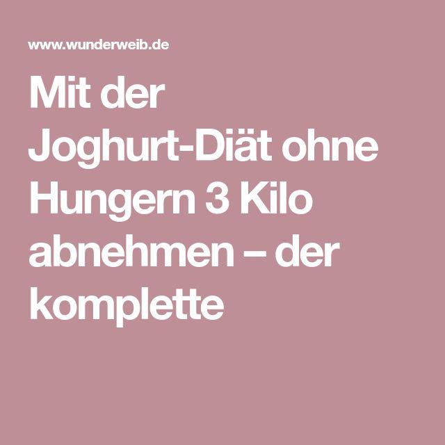 Mit der Joghurt-Diät ohne Hungern 3 Kilo abnehmen – der komplette