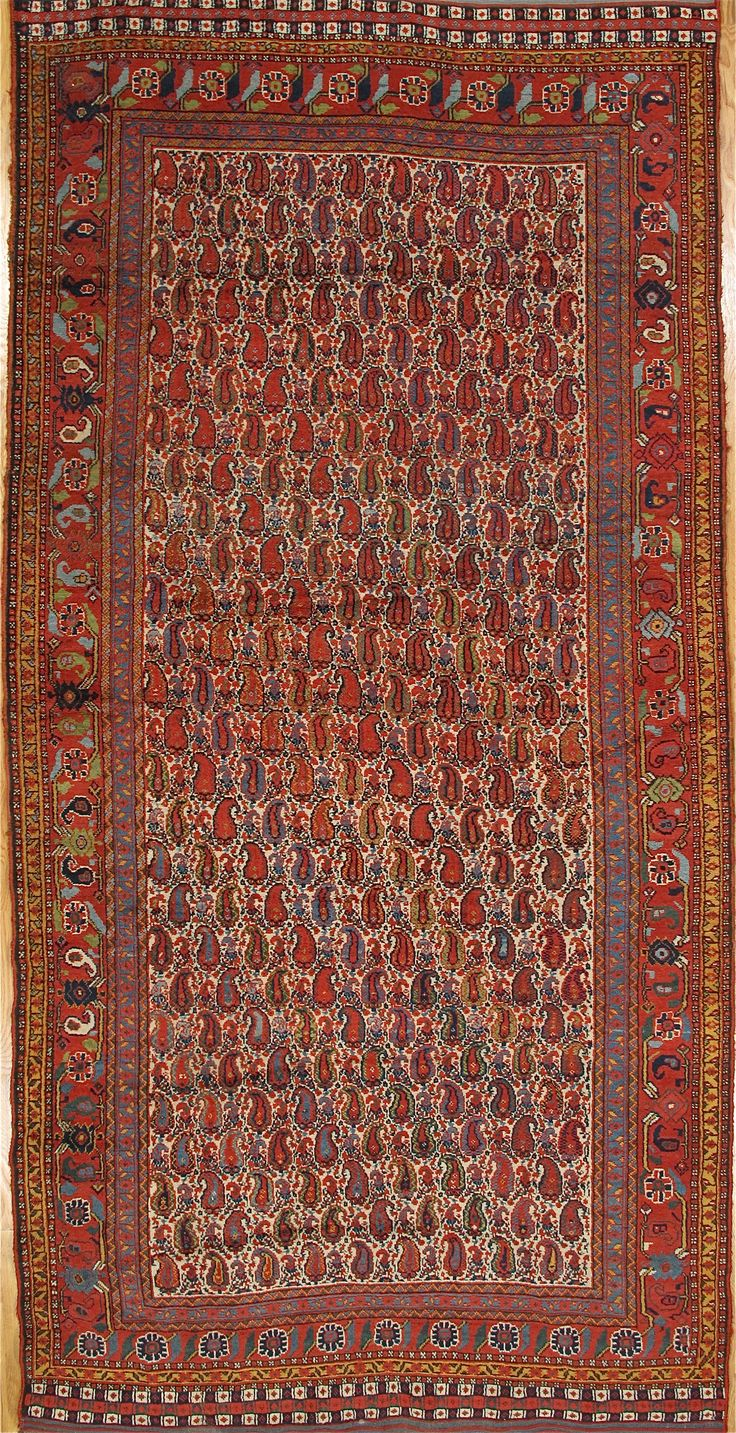 Khamseh Carpet From South West Iran Age Circa 1880 Size 12