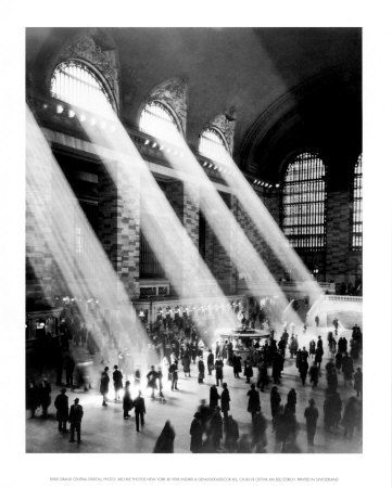 1930's Grand Central Station.  What a photograph!
