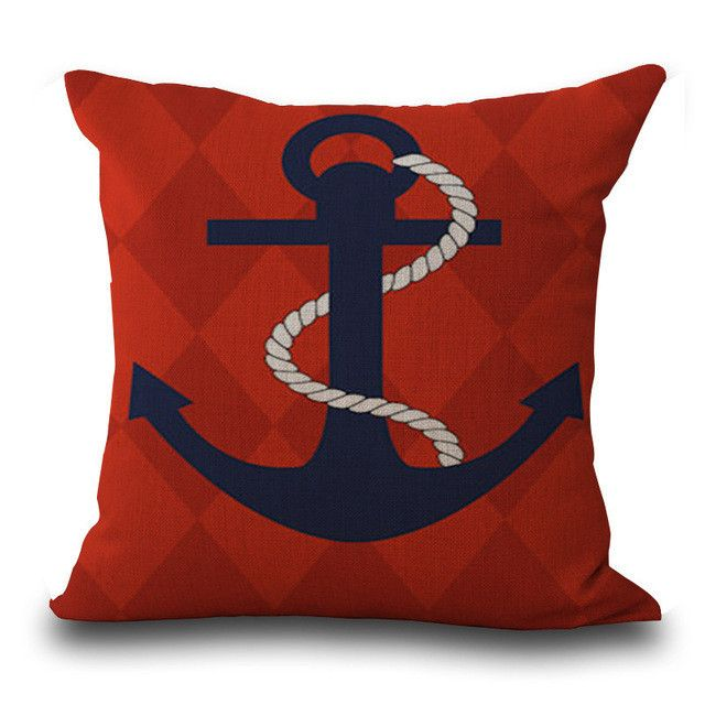 Sailing Pillow Case