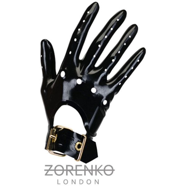 Latex Driving Gloves (4.465 RUB) ❤ liked on Polyvore featuring accessories, gloves, knuckle gloves, latex gloves and driving gloves