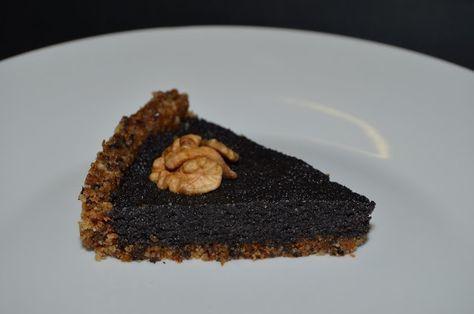 Mlsná máma : Raw makový koláč s vlašskými ořechy