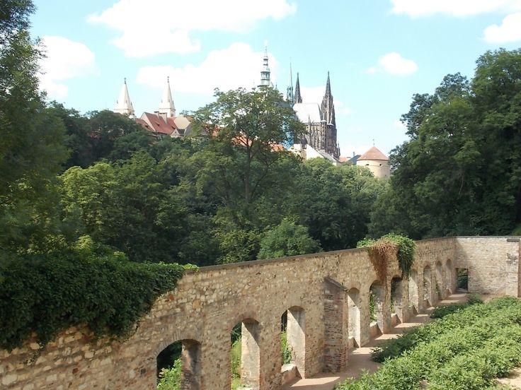 Belvedere gardens, Prague