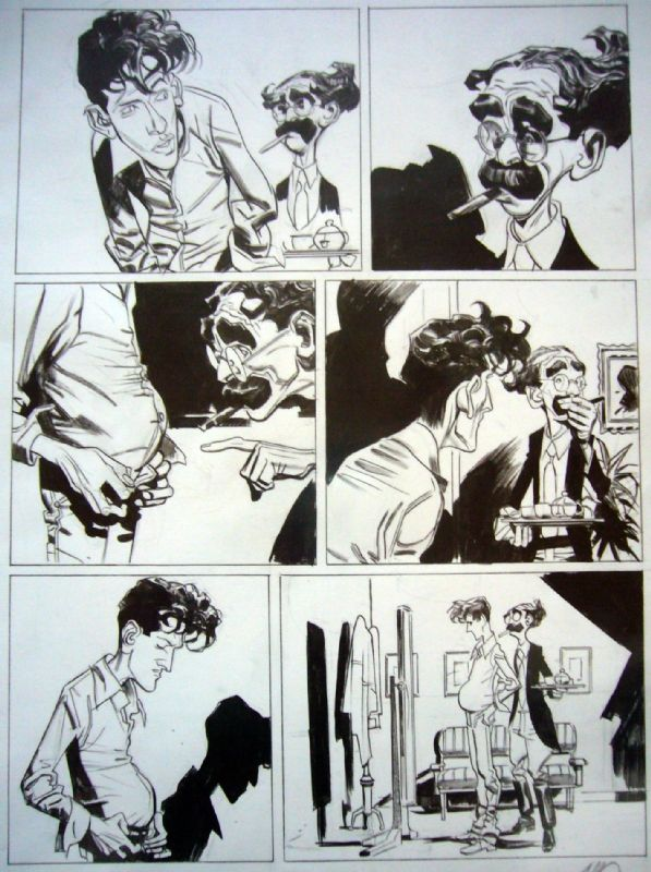 Carnevale - Dylan Dog (a try out for) - 'Humor Fest' Comic Art