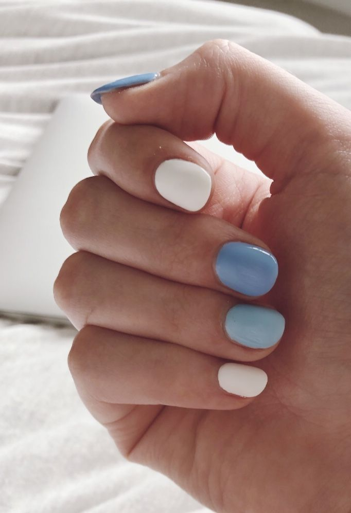 Vsco Nail Trend Multi Color Cute Gel Nails Multicolored Nails Simple Gel Nails You probably know me irl but i just repub cute things pinterest: vsco nail trend multi color cute gel