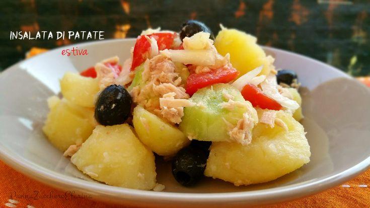 Insalata di patate estiva